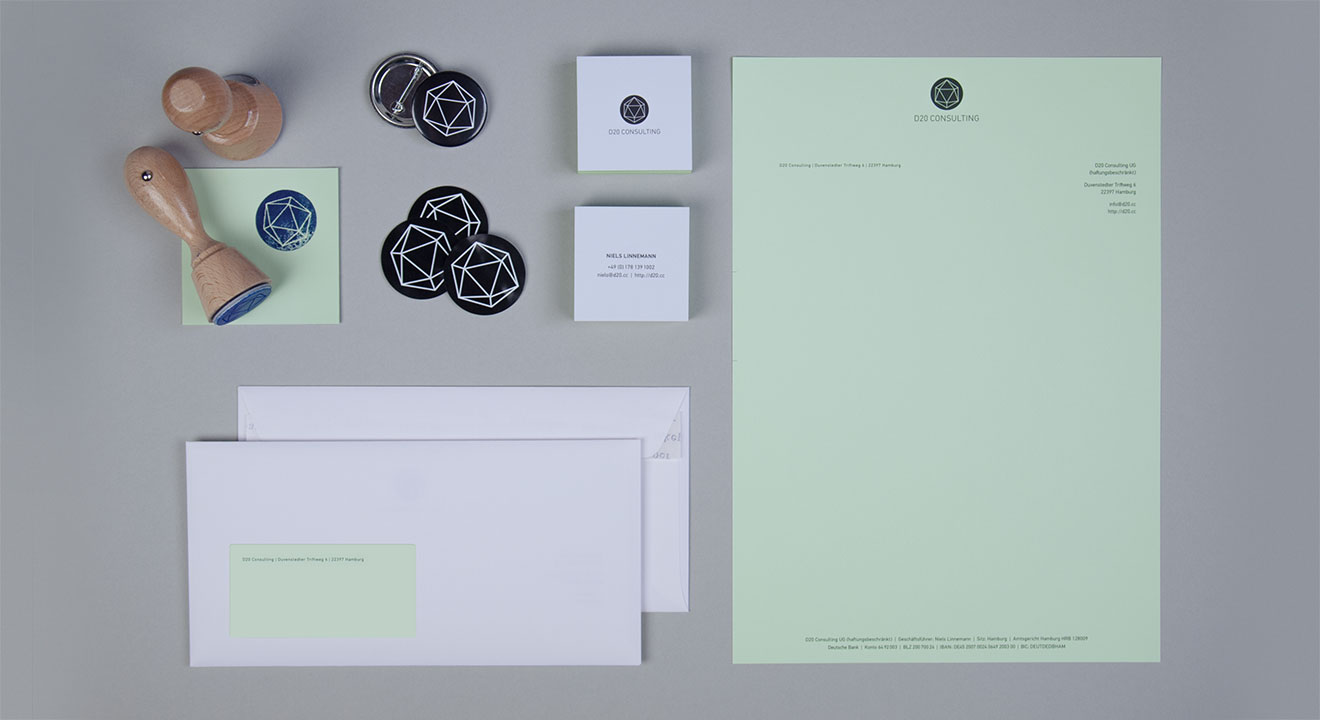 D20 Consulting – Corporate Identity